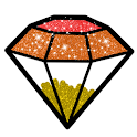 Glitter Diamond Coloring Book - Drawing Pages icon