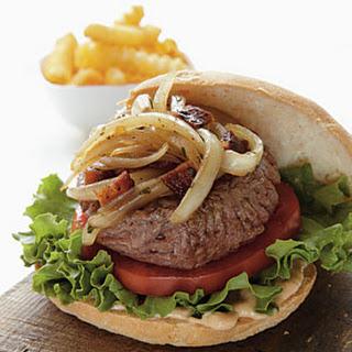 Cast-Iron Burgers