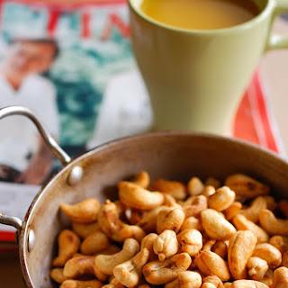 Roasted Spicy Garlic Cashew nuts.