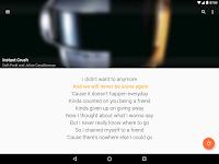 screenshot of QuickLyric - Instant Lyrics