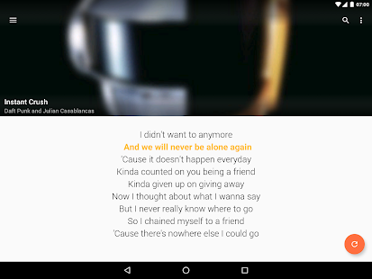 QuickLyric - Instant Lyrics Screenshot