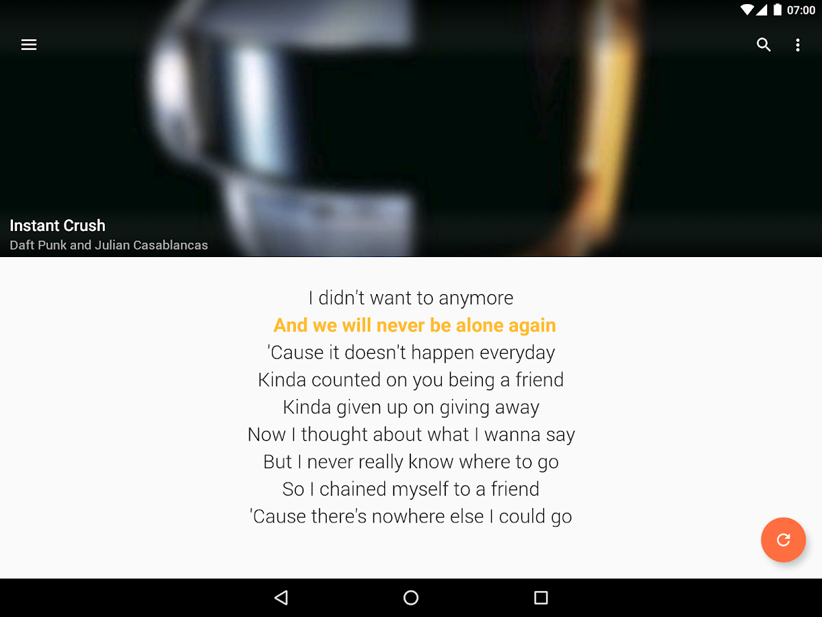 QuickLyric - Instant Lyrics- screenshot