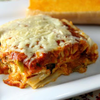 Roasted Butternut Squash Four Cheese Lasagna