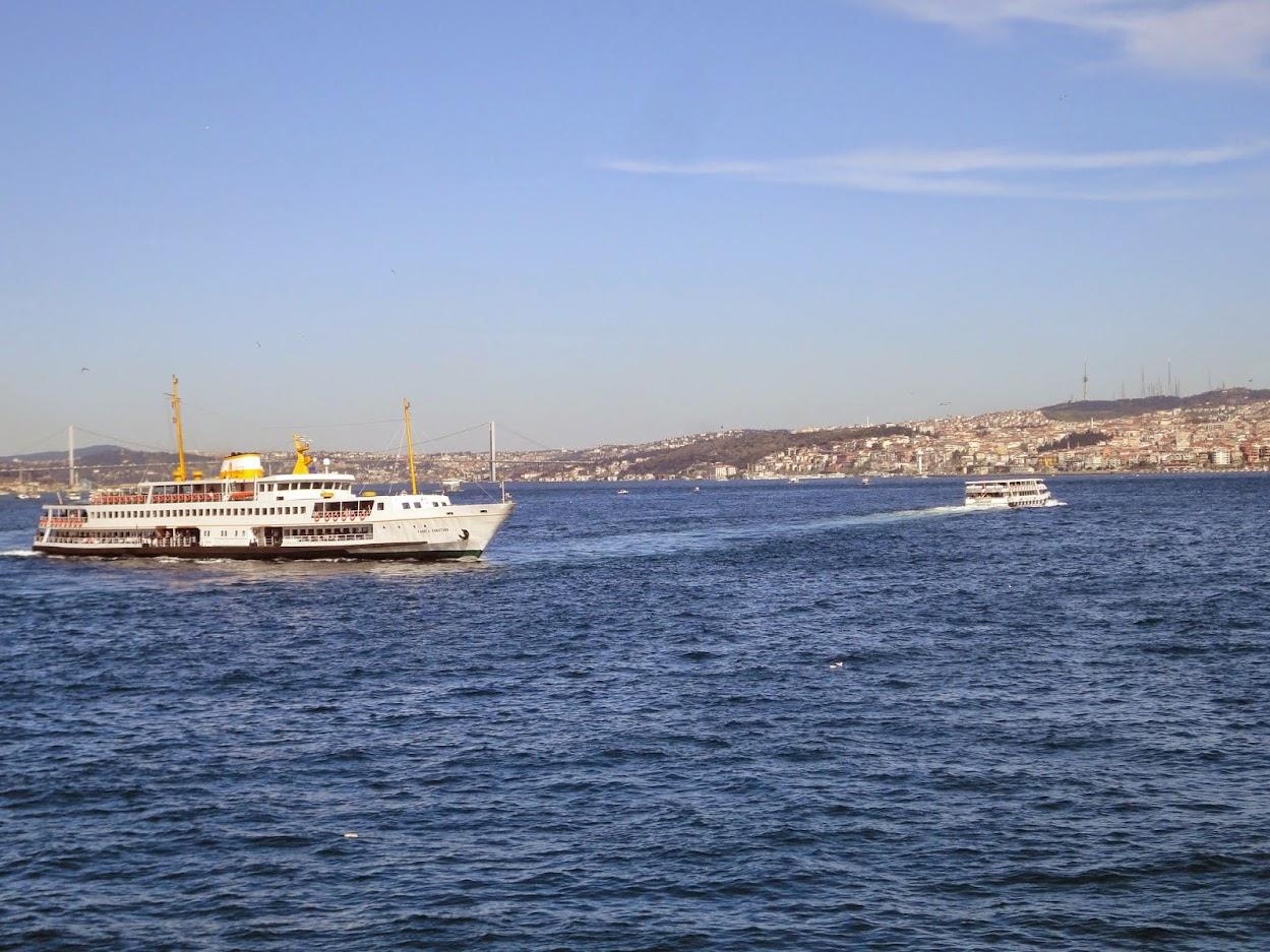 Bosphore à Istanbul