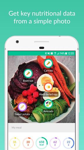 Foodvisor screenshot 1