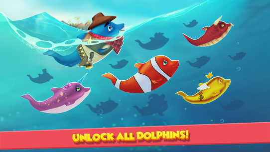 Dolphy Dash: Ocean Adventure MOD APK (Unlimited Money) 2