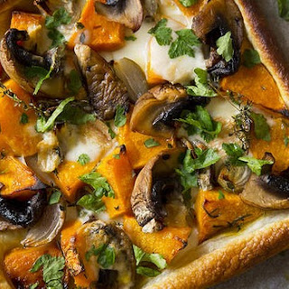 Pumpkin And Taleggio Cheese Tart