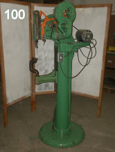 Photo: Rivet machine for skates