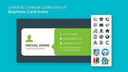 Foto do Business Card Maker Free Visiting Card Maker photo