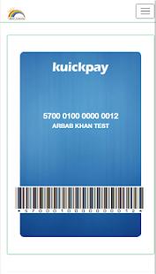 KuickPay - náhled