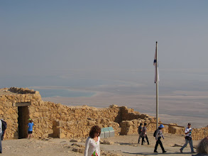 Photo: Dead Sea from Masada