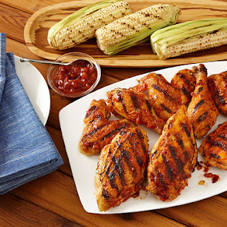 Molasses Smoked Grilled Chicken
