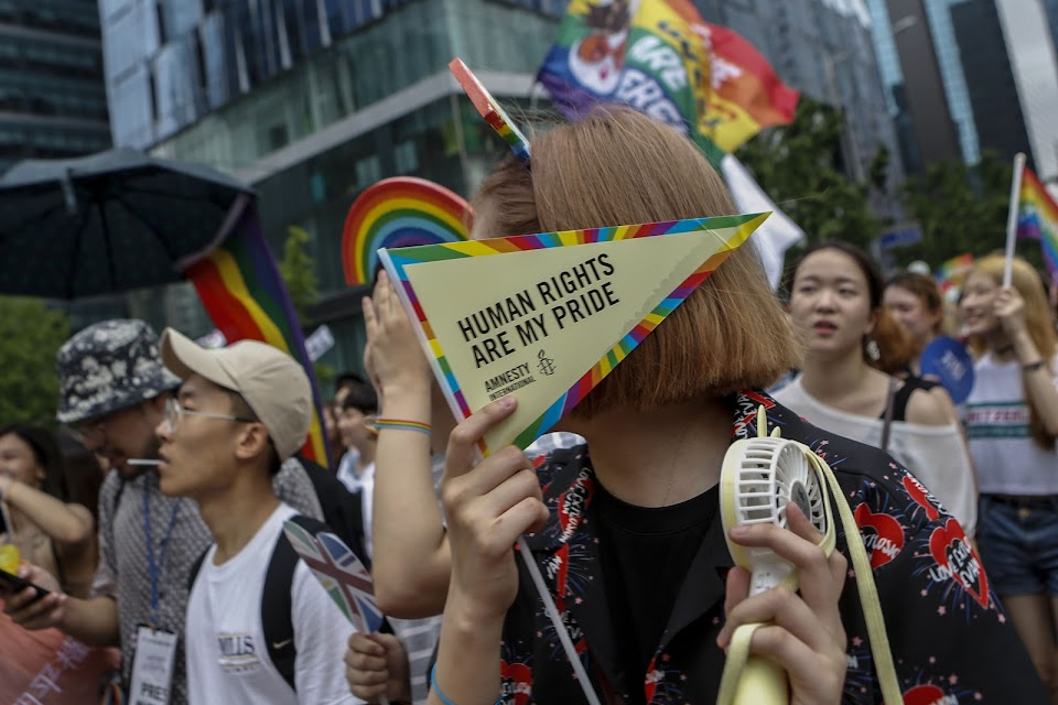 LGBT Parade in Seoul