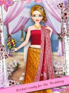 Indian Wedding Makeup And Dressup Screenshot Thumbnail
