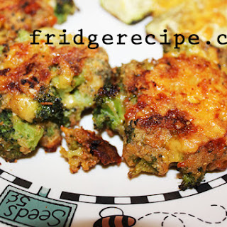 Broccoli Cheese Patties.