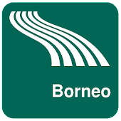 Borneo Map offline