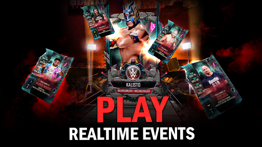 WWE SuperCard - Multiplayer Collector Card Game screenshot 3