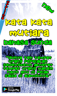 Kata Kata Mutiara Bahasa Sunda Apps On Google Play