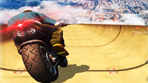 impossible rampe moto vu00e9lo cavalier super-hu00e9ros  captures d'u00e9cran 1
