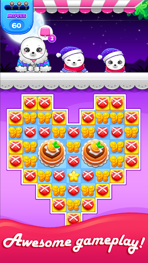 Candy Sweet Fruits Blast  - Match 3 Game 2020 1.1.4 screenshots 1