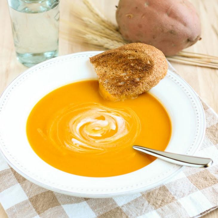 Butternut Squash and Sweet Potato Soup Recipe