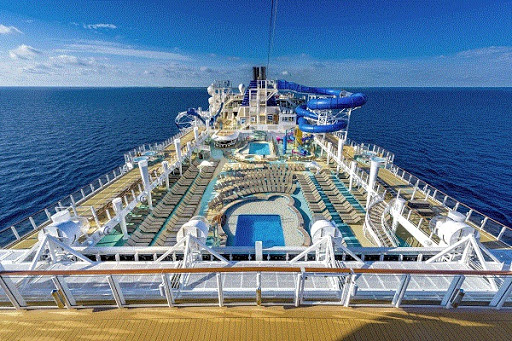 ncl_Bliss_Pool_Deck.jpg - A new sun deck on Norwegian Bliss offers more space for sun worshippers to get catch some rays.