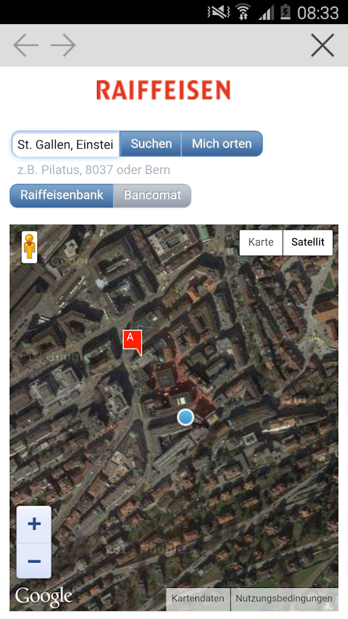 Raiffeisen- screenshot