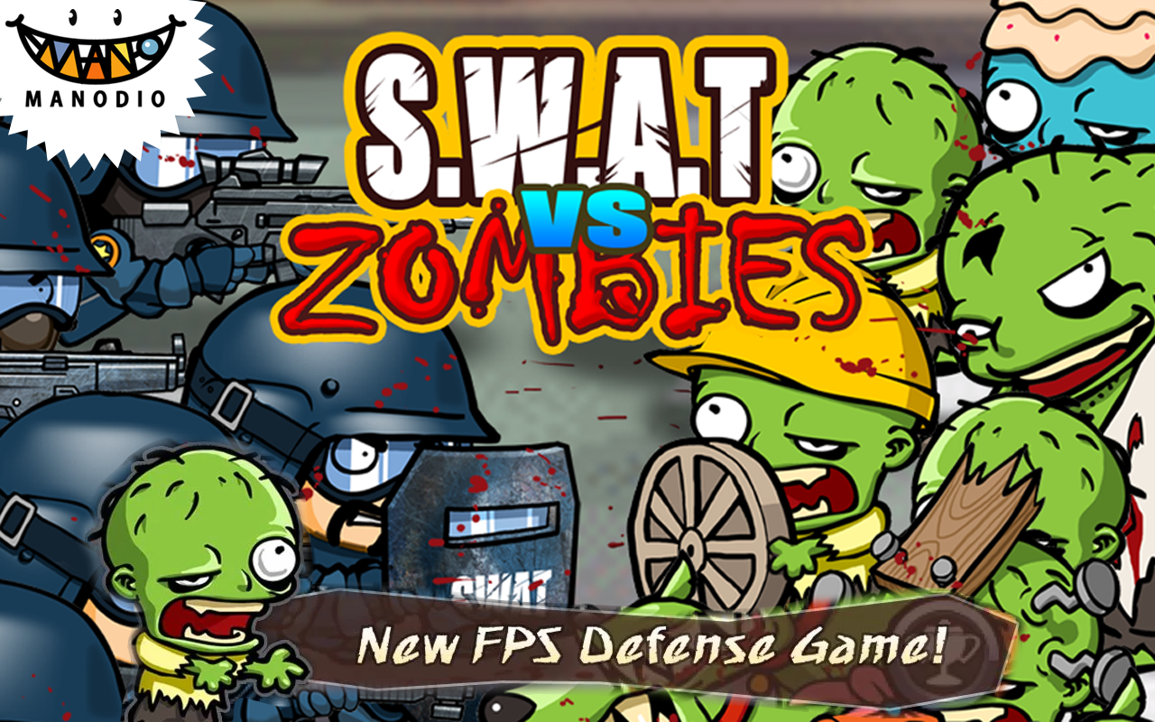 SWAT and Zombies- screenshot