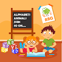 ABC English Alphabets Phonic Sounds for kids. icon