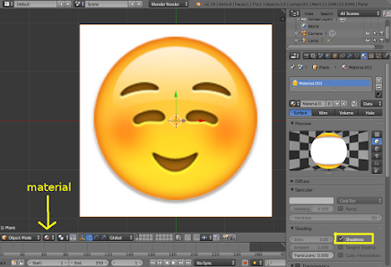 Emoji or Logo with Curve Bezier 1