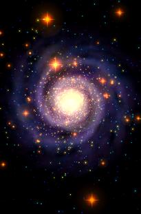 Galaxy Music Visualizer - náhled
