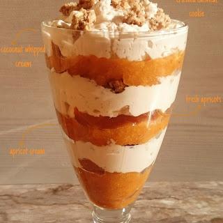 Healthy Apricot Parfait