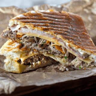 Media Noche (Cuban Sandwich).