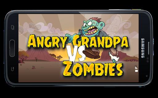 Angry Grandpa VS Zombies