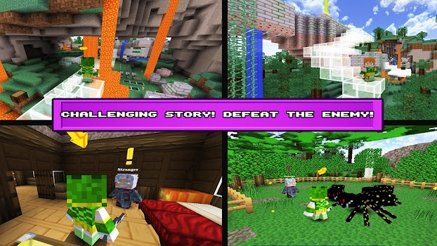 Block Survival Craft:The Story
