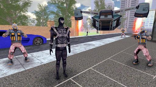 Superhero Fly Simulator apkpoly screenshots 3