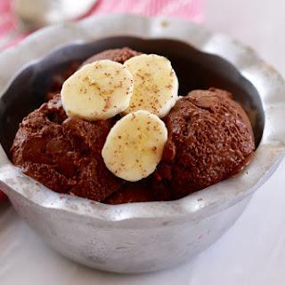 Chocolate and Banana Frozen Yogurt (No Machine)