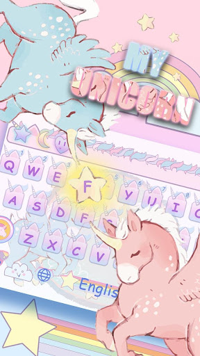 OH MY UNICORN KEYBOARD for PC
