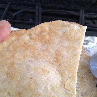 Crispy, Chewy, Grain Free Pizza Crust