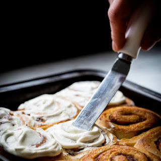 Pumpkin Filled Cinnamon Rolls