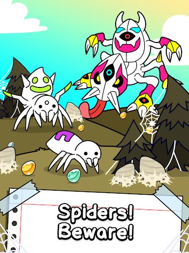Spider Evolution - Merge & Create Mutant Bugs 1.0.1 screenshots 9