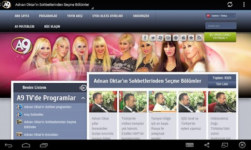 A9 TV Programları- screenshot thumbnail