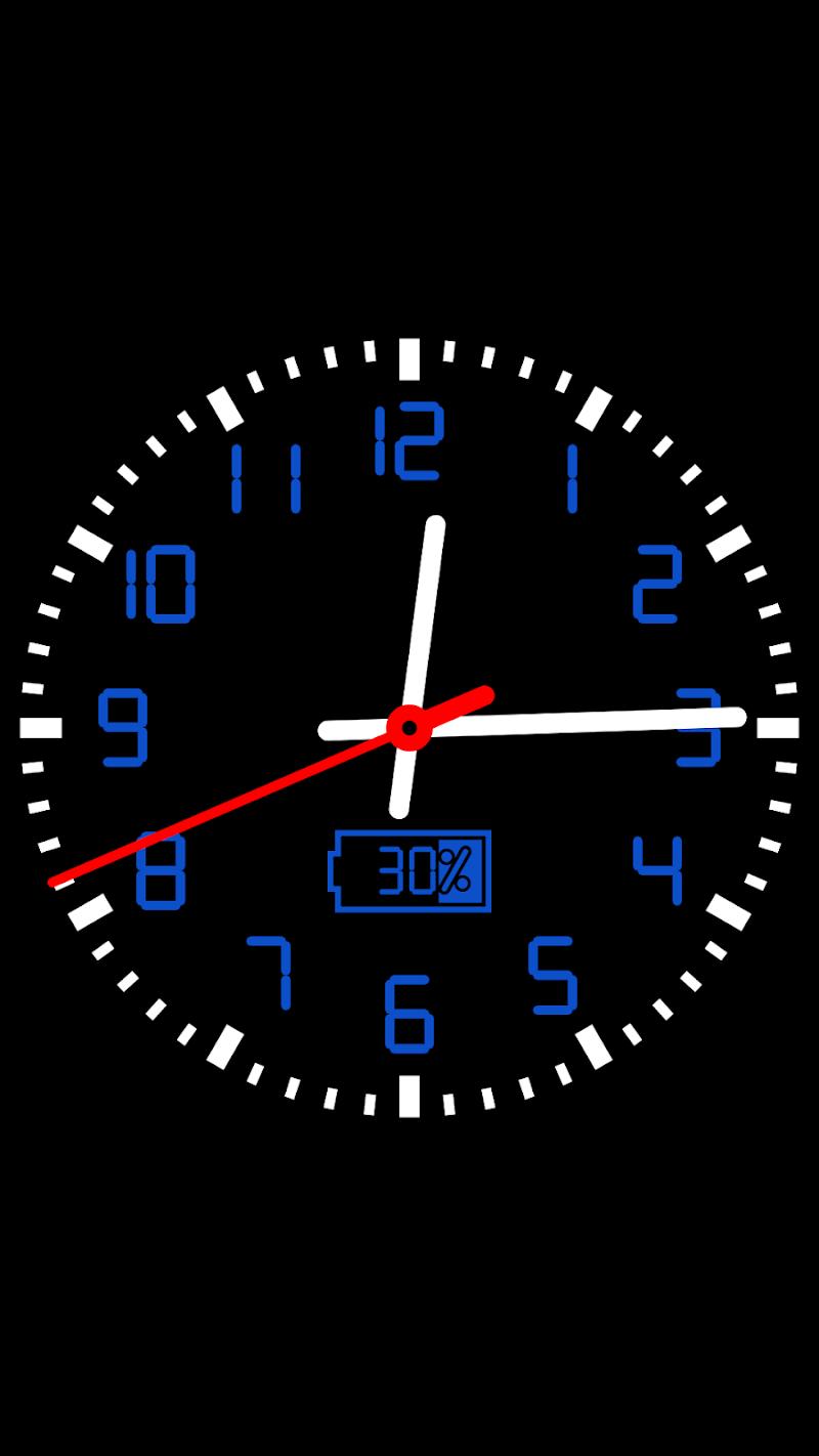 Clock Seconds Pro + Widget Screenshot 6
