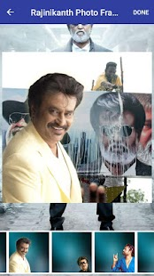 Rajinikanth Photo Frames - Thalaiva - náhled