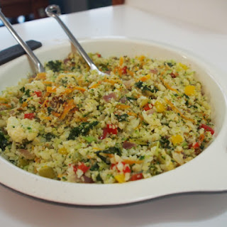 Fried Cauliflower Rice.