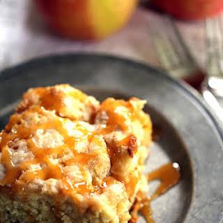 Caramel Apple Cheesecake Coffee Cake.
