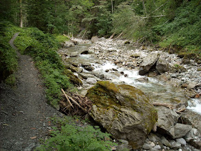 Photo: Am Mandlingbach entlang geht's zum …..