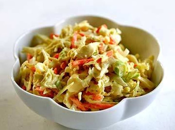 In small bowl, mix together mayonnaise, sugar, vinegar,celery seed and onion (if using). Stir...