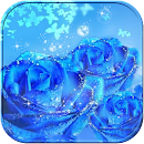 Valentine Blue Rose Theme v 1.1.3 app icon