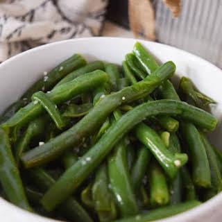 Instant Pot Garlic Butter Green Beans.